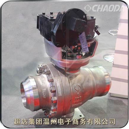 煤化工氧气专用球阀