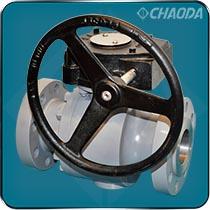 蜗轮传动高压锻造球阀