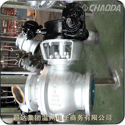 Class150钢制硬密封固定球阀